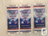 MUST SELL   2014 Winter Classic - Toronto Maple Leafs