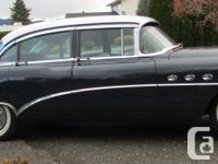 1954 Buick Road Master, Riviera Sedan, Options include