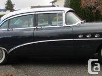 1954 Buick Road Master, Riviera Sedan, Options include