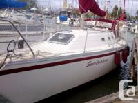 Quarter berth version - freshwater only! Owner leaving