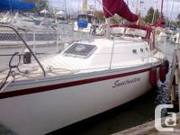 Quarter berth version - freshwater only! Owner leaving