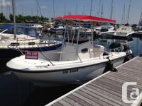 This 1999 Boston Whaler Outrage 21 with centre console