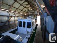 30' Boathouse A-42 at Van Isle Marina, Sidney Very