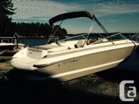Very like-new condition! Boat runs great!