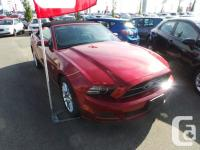 Check out this 2014 Ford Mustang V6 Premium. This