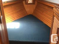Well appointed 1983 Fraser Sloop. Forward V berth,