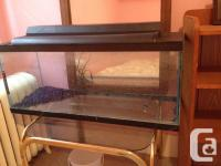 Hello, I have two beautiful 30 gal fish aquariums that