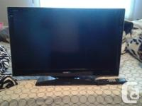 Brand new 30 inch sony bravia tv works great only