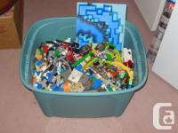30 lbs of Lego. Includes pieces from the 80's -