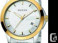 New Gucci Unisex 'G-Timeless' series Watches; Various