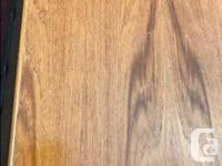 ( SPRING SALE ) Mid century teak bookcase w/ adjustable