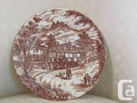 5 piece place setting. Supper Plate. Bread Plate.