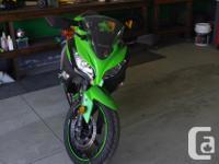 Make Kawasaki Model Ninja Year 2013 kms 802 Like new