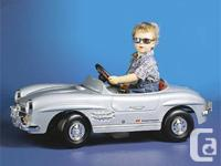 � Mercedes 300 SL Ride-On pedal auto � The weight of