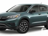 Description: This is a 2016 Honda CR-V SE. Contact now