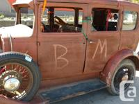 Make Chevrolet Year 1931 Colour rust Trans Manual 31