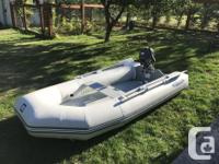 310 West Marine Inflatable with Inflatable Floor and