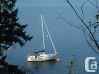 Cal 28 Impeccable Cal 28 sloop with a large interior