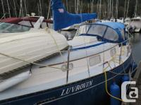 Luvrovin is a good cruising boat for our big waters