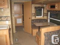Over 300 sq ft of living space Full-sized back door for