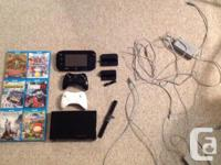 Hello, I am selling My 32 GB Black Wii U which is used