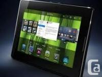 Gently used 32 gb blackberry playbook with cover and