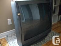 MAKE ME AN OFFER for this older tube TV (lost original