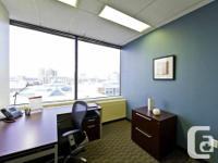 Flexible arrangement terms. Class-A building atmosphere