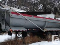 END DUMP TRAILER - 1997 MIDLAND 2 feet END DUMP Tridem,