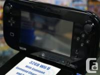 This 32Gb Wii U system comes with the Gamepad, Gamepad