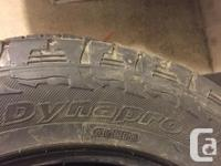Came with our truck new in Dec 2015 Approx 65% tread,