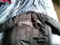 """XL winter coat, 2 Pac clothing line """"MAKAVELI?BRANDED"""""""