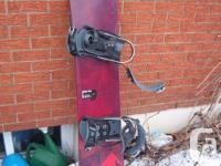"""""""K2"""" Merge Snowboard with bindings available for sale."""