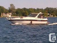 The Regal 360 Commodore was the largest boat in the
