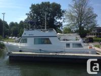 This custom built ALUMINUM trawler has proven herself