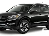 Description: This is a 2016 Honda CR-V Touring. Call us