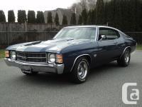 1971 Chevelle SS Tribute! 454 cu inch. Turbo-Hydramatic