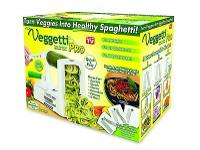 The Veggetti pro vegetable Spiralizer is a fast, easy