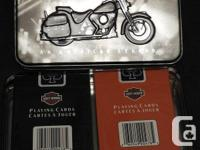 Two Decks of Collectible Harley-Davidson Playing