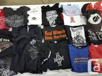 Collection includes 28 tops in next - to -new condition