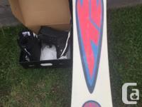 The original Fat Bob snowboard by K2. Board is in good