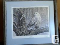 """First Snow"" owl print by Paul Perrault. Ducks"