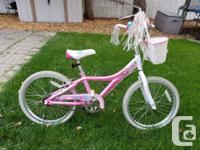 "Giant Brand Taffy Girls Bike -20"" wheels -Coaster brake"