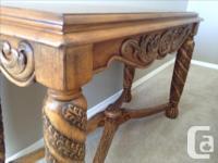 """Landmark"" Sofa, Entry or Hall Console Table by Ashley"