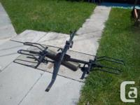 """SportRack"" 2-bike bicycle rack for sale. Hitch mount,"