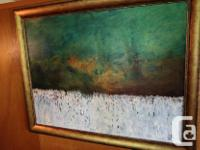 Rare large oil by the late master painter Will Julsing