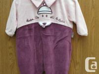 Nice Baby Sleepers size 6M never worn condition like