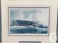 """Limited Edition Print Gallery Framed """"West Coast"""
