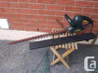"""Yardworks"" 25 inch electric edge trimmer for sale."