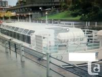 """~~1986 56'3"""" x 16'6"""" x 5'9"""" 130 Passenger Canal"""